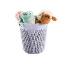 M-1085 ROUND DROP DESIGN BASKET (28,5 X 30 CM ) 12 L