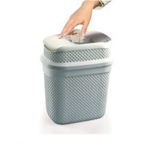 M-134 WHIRLPOOL DUSTBIN WITH DROP DESIGN (33 x 25 x 38 CM) - 16 L