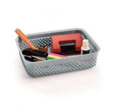 M-138 - DROP DESIGN BASKET ( 34,5 x 26 x 6,5 cm) - 4,7 L