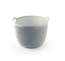 M-153 - ROUND DROP DESIGN BASKET ( Ø 190x155 mm ) - 3.3 L