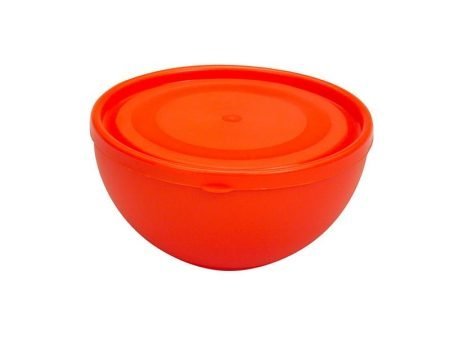 M-284 FIT ROUND BOWL WITH LID (12,5 X 6,5 CM) 0,6 LT