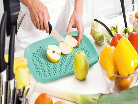M-298 CHOPPING BOARD WITH STRAINER (36,2 X 27,6 X 3,4 CM)