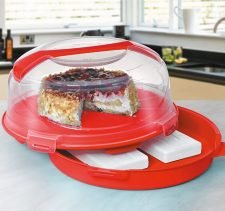 M-804 CAKE BOX WITH ICE PACK SPACE (34,5 X 18 CM) 7 LT