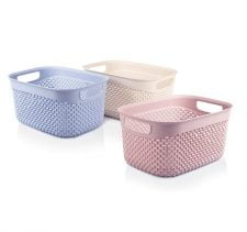 M-162 - DROP DESIGN BASKET (23,5 x 17,5 x 12 CM)-3,3 L