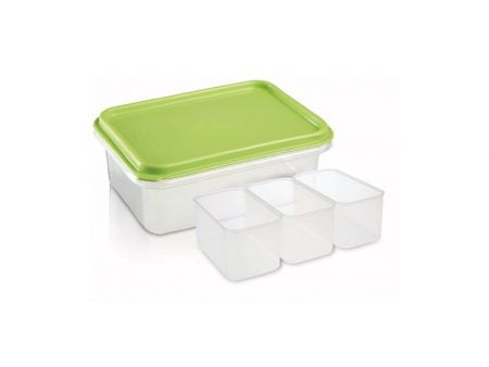 M-203 FOOD SAVER (Three Division) (18,5 X 12,5 X 6 CM) 1 LT