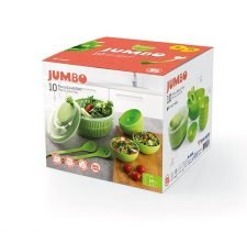 M-2036 JUMBO SALAD SET -COLOR BOX PACKING 1 PC X M-123+1 PC X M-117+6 PCS X M-244+1 PC X M-248