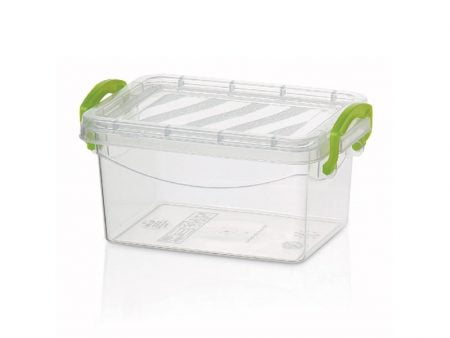 M-399 MULTIPURPOSE BOX WITH LOCKED (16 X 11 X 6,3 CM) 0,6 LT