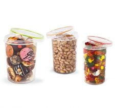 M-771 TWIST COVER ROUND FOOD SAVER (3 Pcs set) (0,6 L + 1,1 L + 1,5 L)