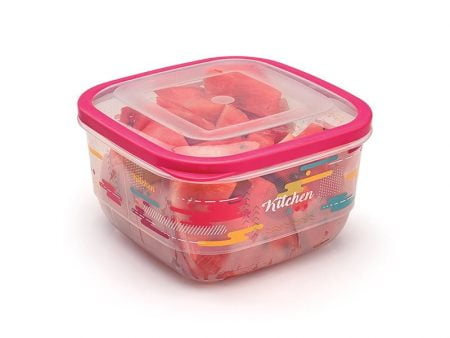 M-899 TRENDY ELEGANT FOOD SAVER WITH IML DESIGN (22x22x12 CM ) 3,6 L