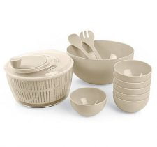 M-2035 JUMBO SALAD SET-SHIRINK PACKING - 1 PC X M-123+1 PC X M-117+6 PCS X M-244+1 PC X M-248